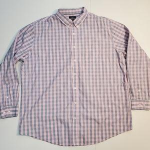 Croft & Barrow Easy Care Button-Down Shirt 3XL-TAL